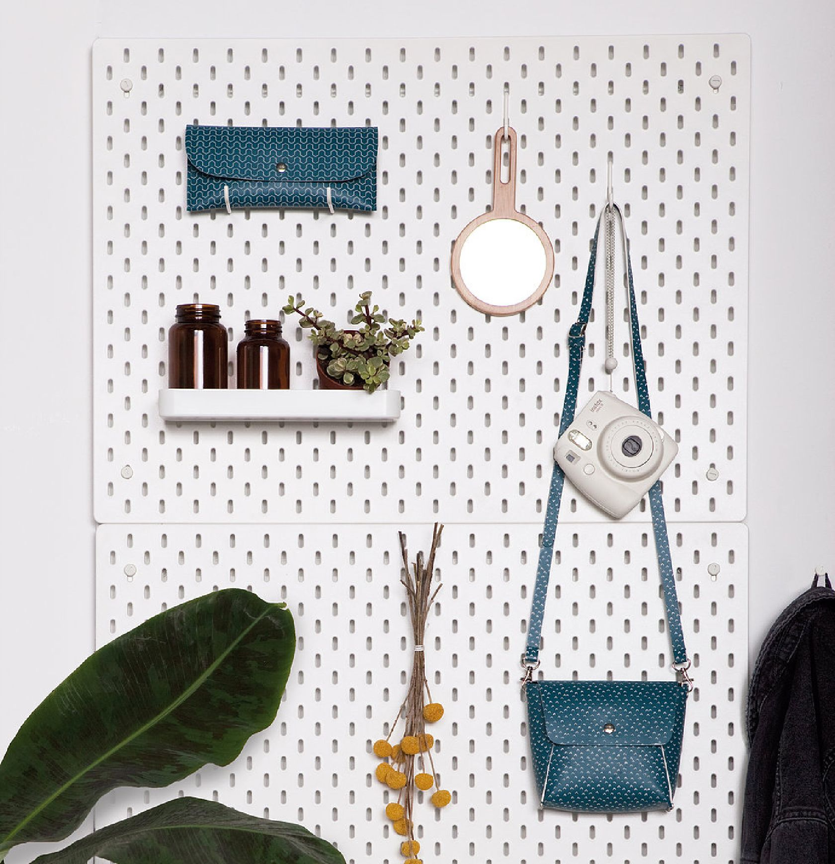 photo styling pegboard