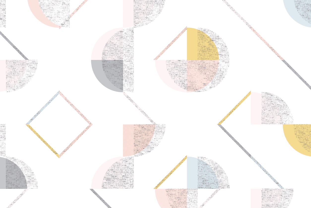 geometric seamless pattern with texture